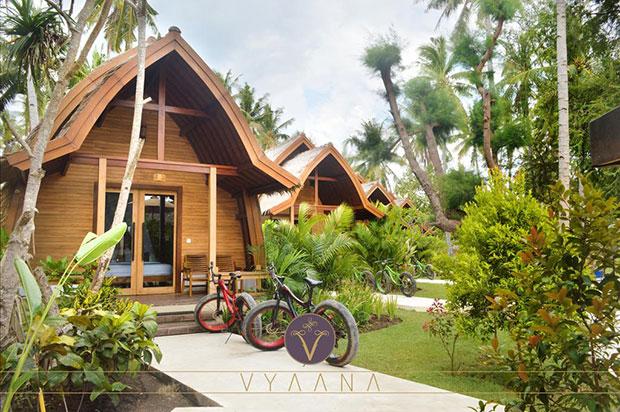 donde alojarse en gili air vyanna resort