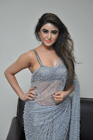 Actress Sony Charistha Latest Pos in Silver Saree at Black Money Movie Audio Launch  0037.jpg