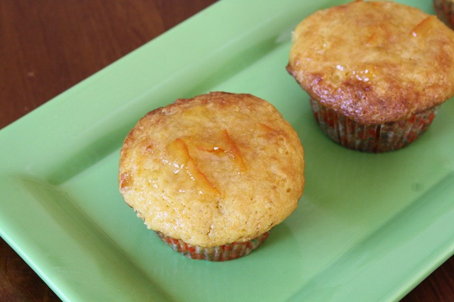 Food Lust People Love: Thin shred marmalade mixed through sweet pumpkin batter makes these orange marmalade pumpkin muffins deliciously more-ish! Perfect for breakfast, snack or teatime!