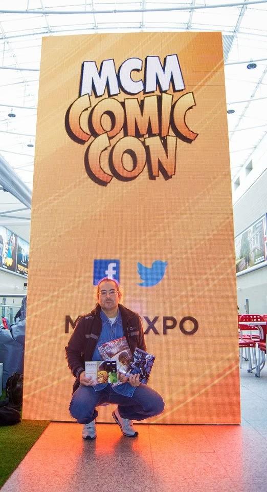 Giuseppe at MCM ComicCon