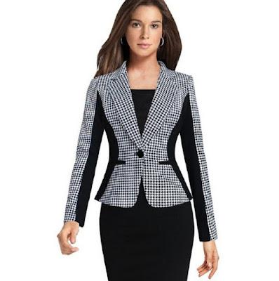 Elegan Blazer Untuk Wanita Karier
