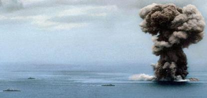 처참하게 당하고 폭발하는 '일본의 상징'