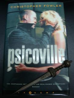 Portada del libro Psicoville, de Christopher Fowler