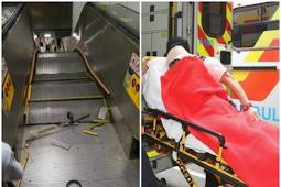 Seorang Wanita mengalami Kecelakaan Saat mendorong Kereta di Eskalor Stasiun MTR Diamond Hill Exit C2