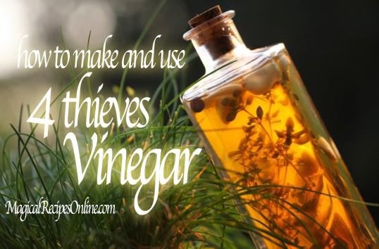 hoodoo 4 four thieves vinegar