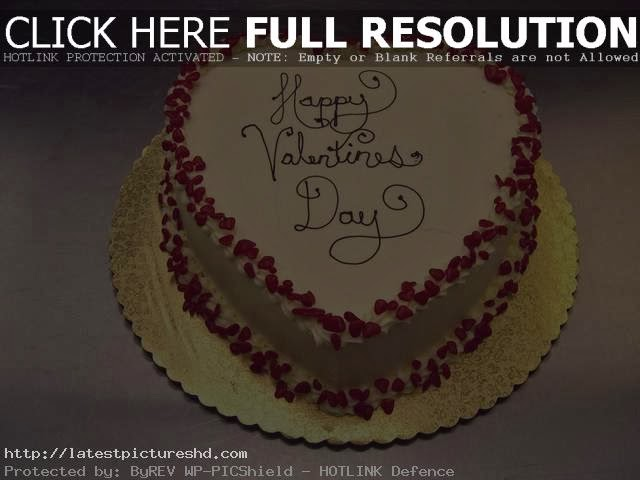 Red beans Valentine's Day Cake