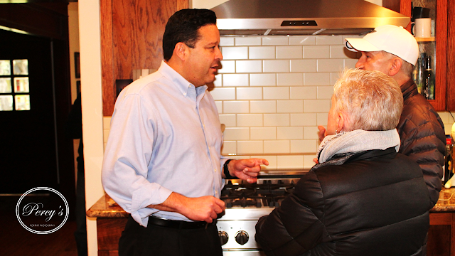 Gallery: Pasadena District 5 Councilman Victor Gordo meets with members of the Community in Orange Heights