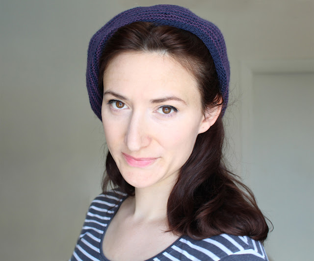 The Butterfly Balcony: Knit It - Sunday Pictorial Beret from A Stitch In Time Vol.2