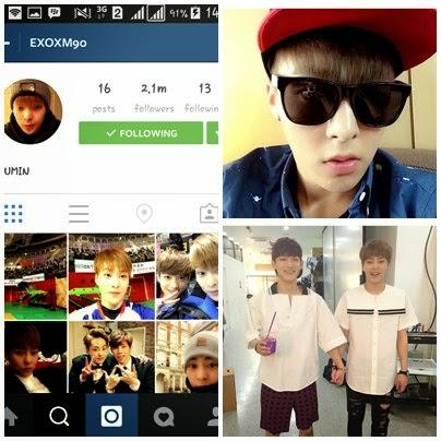 foto instagram xiumin exo