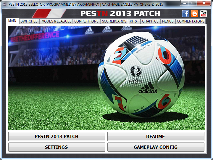 carthage eagles patchers pes 2013