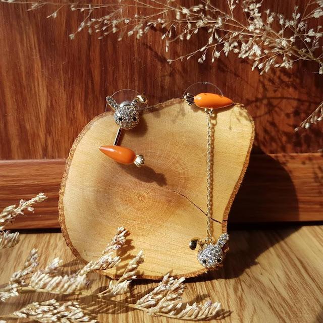 Dijual perhiasan emas imitasi impor memukau berkualitas KWANG EARRING, Toko Online Jakarta