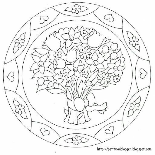 mandala drawing design