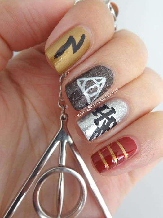 Harry Potter Nail Art | Brit Nails