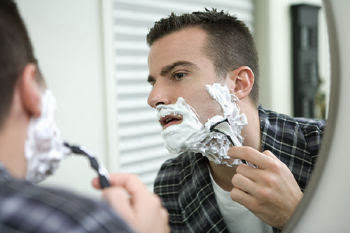 άνδρας, αφρός, ξύρισμα, φτιάξε μόνος σου, υγιεινή