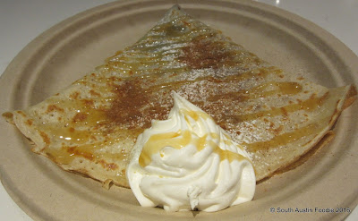 Crepe Crazy South Lamar -- brown butter and sugar crepe