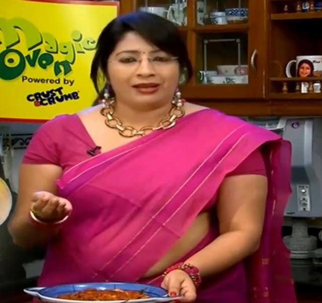 Indian Hot Actress: Mallu Cookery Show Anchor Lakshmi Nair