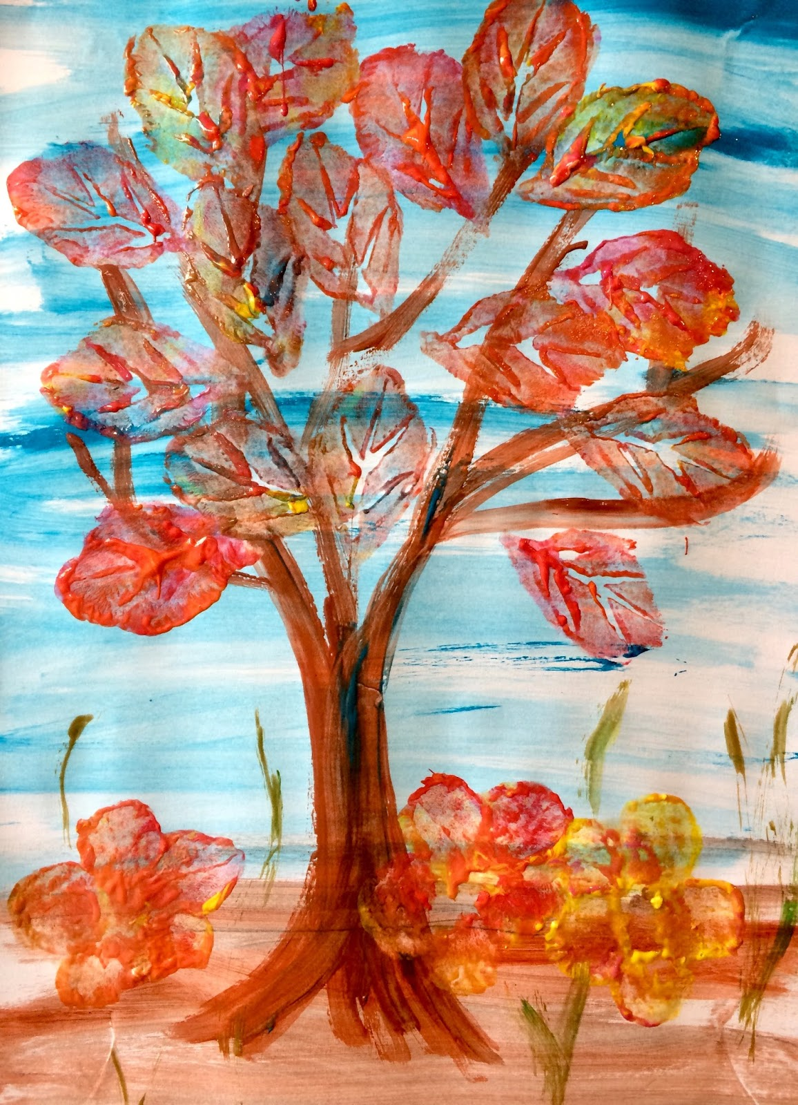 Copac toamna