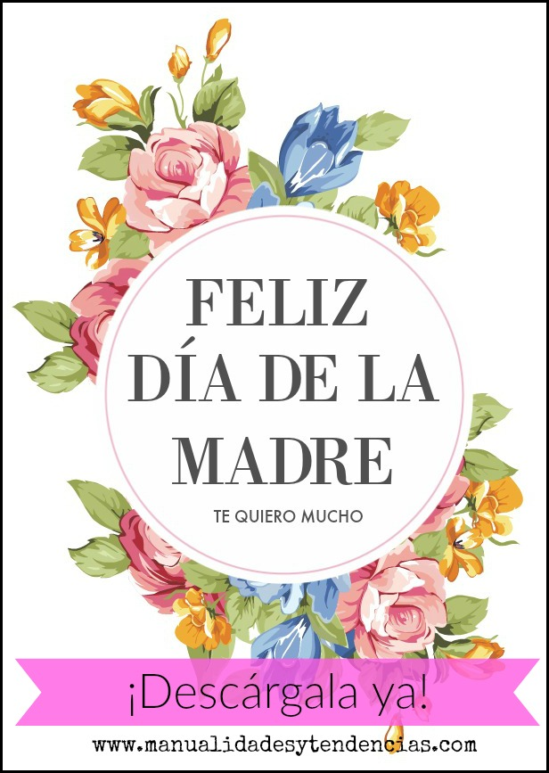 Tarjeta gratis para le día de la madre