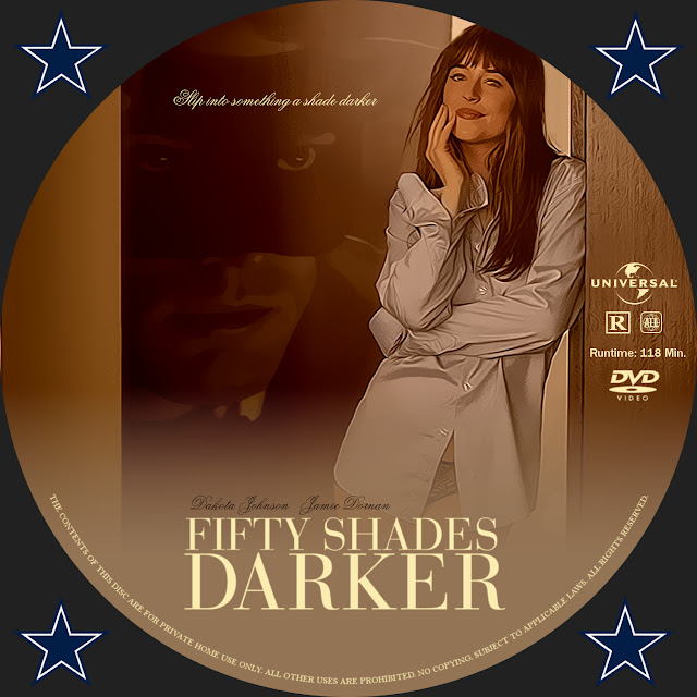 Fifty Shades Of Darker DVD Label