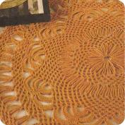 Tapete Naranja a Crochet