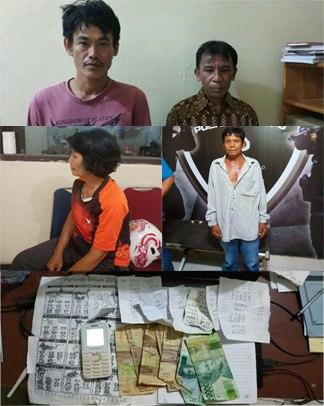 Tim Jatanras Polres Palopo Ungkap Pelaku Judi Togel di Tiga Lokasi Berbeda Dalam Sehari