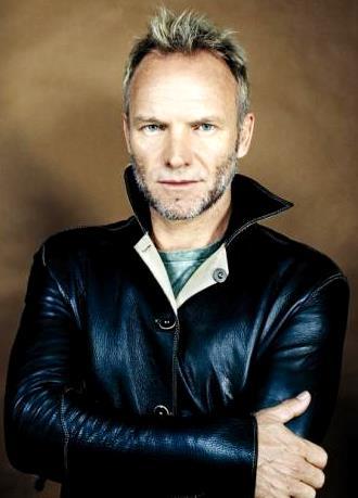 Foto de Sting en sesión de foto