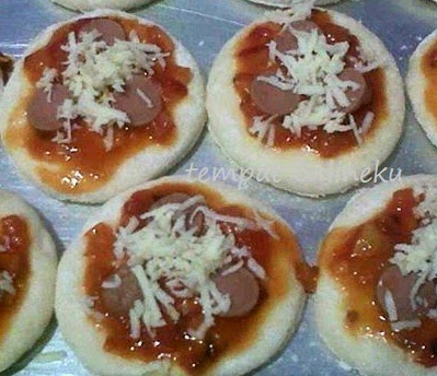 resep pizza mini kukus