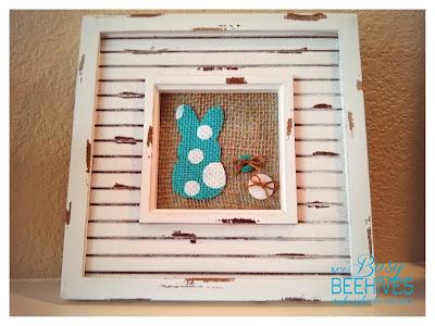 DIY Spring Bunny Frame