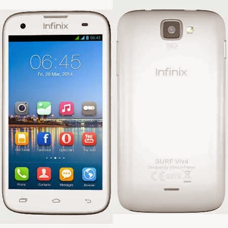 How to Root Infinix Surf Spice X403
