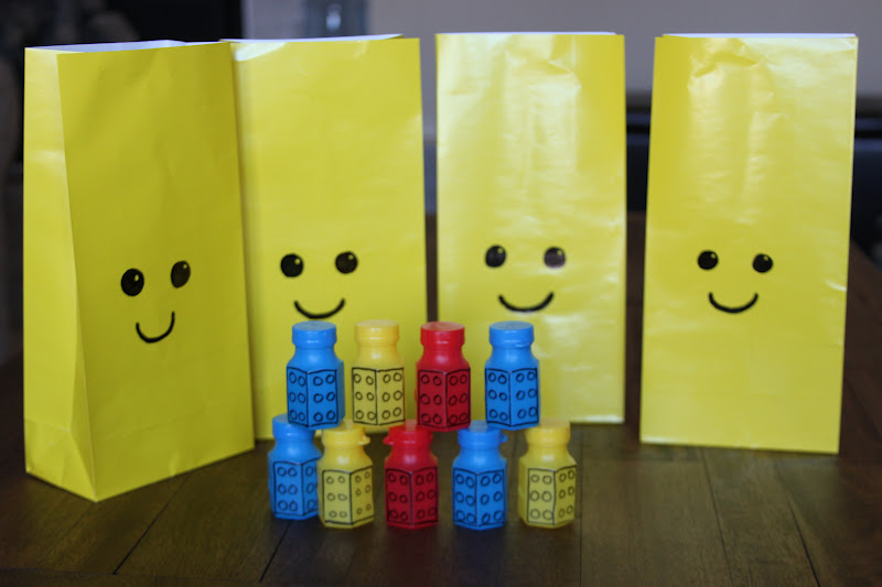 Lego Brick Bubbles And Party Bags