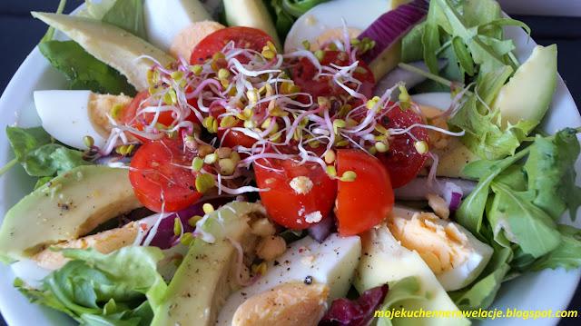 dietetyczna z sałatka