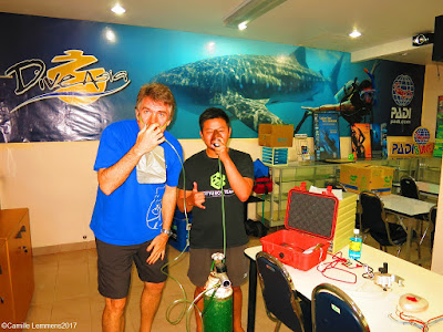 PADI Specialty Instructor training on Phuket during June 2017