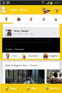 Kumpulan Facebook Mod APK Keren Terbaru for Android ini bisa kamu download melalui situs www.akozo.net dengan tema-tema yang keren terbaru. Kumpulan Facebook Mod APK komplit, Facebook Mod APK