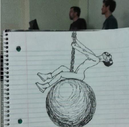 un-etudiant-dessine-son-prof-durant-les-cours-9 un étudiant dessine son professeur pendant les cours quand il s'ennuie