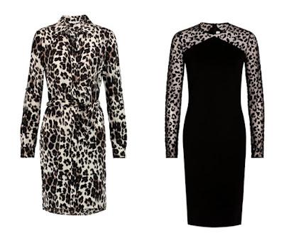 Платья с леопардовым принтом для Глубокого цветотипа