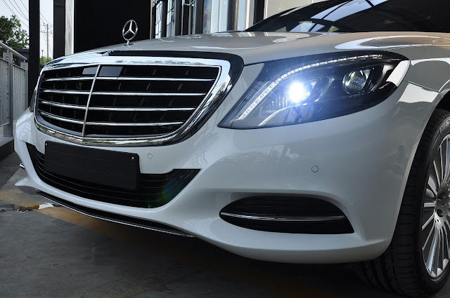 Hệ thống đèn LED Mercedes S500 L 4MATIC thiết kế lịch lãm, hiện đại