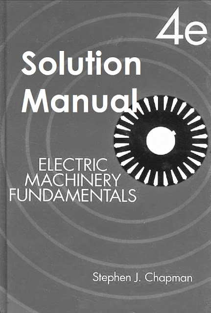 Electric Machinery Fundamentals Chapman 5th Edition Pdf
