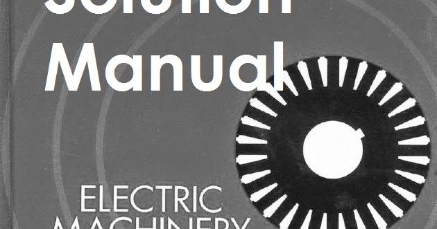 Electric Machinery Fundamentals By Stephen J Chapman Pdf