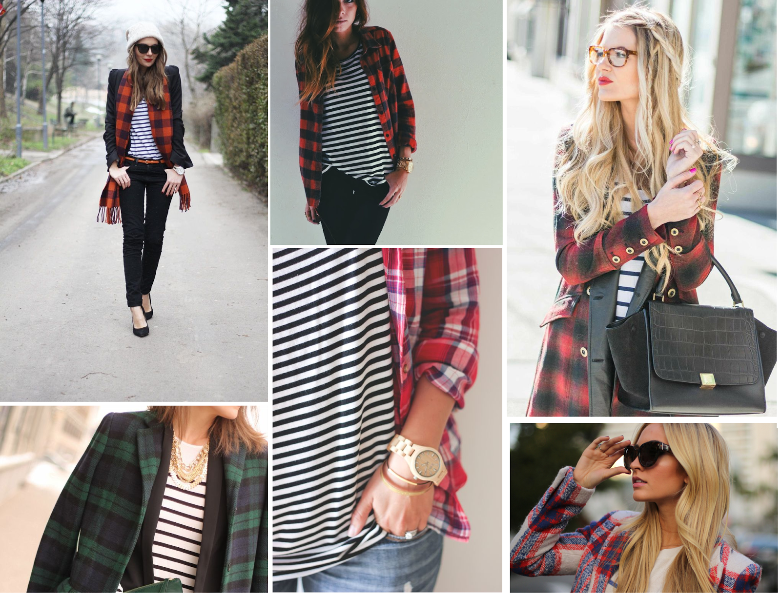 Plaid and stripes wishlist.
