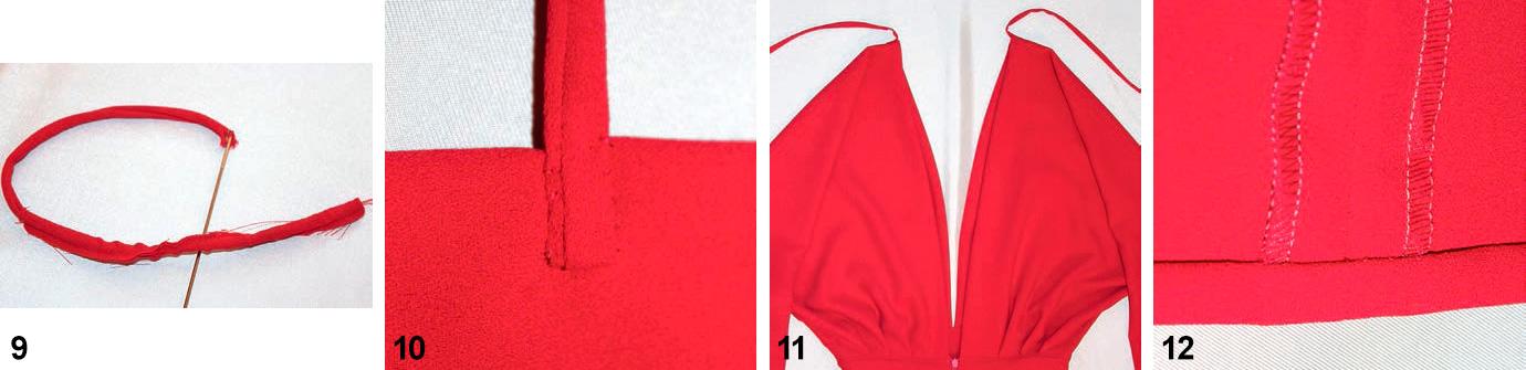Платье макси с глубоким вырезом горловины