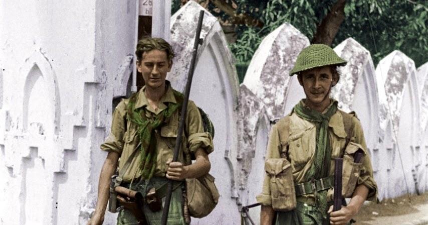 Foto-foto Jadul tempo dulu: Tentara Belanda menduduki kota ...