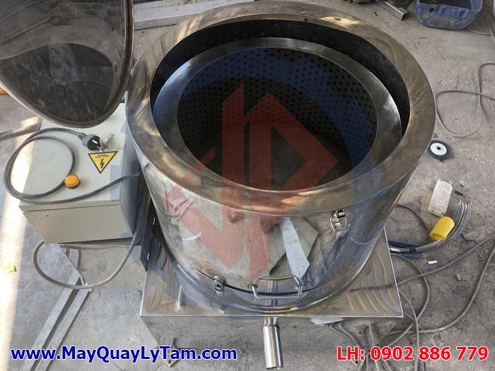 Máy ly tâm muối ăn giá rẻ, máy vắt ly tâm công nghiệp chất lượng cao, hàng sản xuất tại Việt Nam