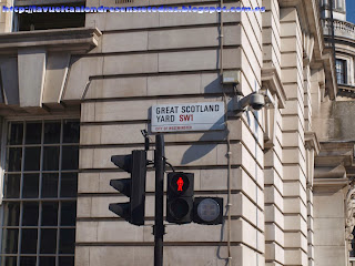 Calle de Scotland Yard en Londres
