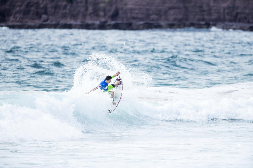 1 Luis Diaz 2016 World Junior Championship foto WSL Kelly Cestari