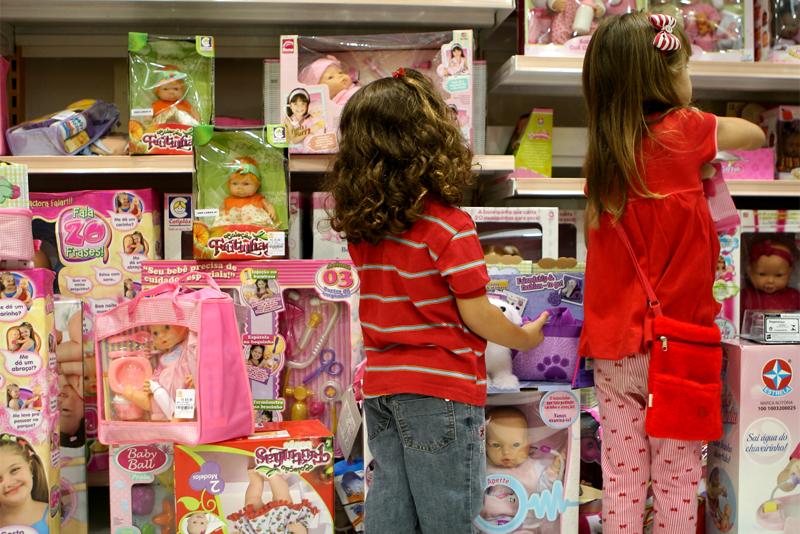 Vendas para o dia das crianças sobem 2,7% em 2017, segundo Boa Vista SCPC