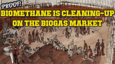 Biomethane cleaning up on biogas market article feature image.