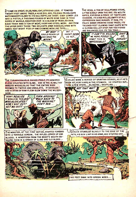 Weird Science-Fantasy v1 #25 ec comic book page art by Al Williamson
