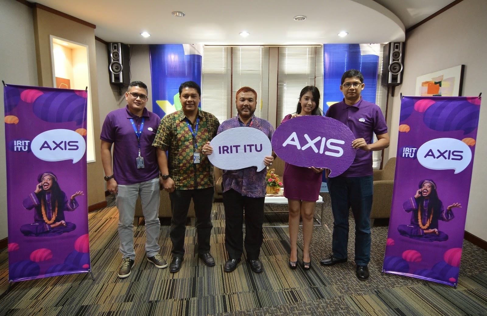 AXIS Hadir Dengan Gaya Hidup Iritology