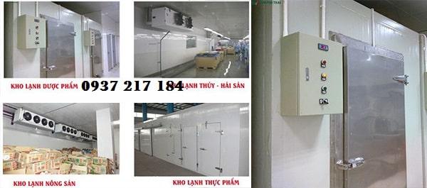 Lắp đặt , sửa chữa kho lạnh bảo quản dưa hấu