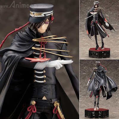 Figura Lelouch Lamperouge CODE BLACK 1st Live Encore! Ver. ARTFX J CODE GEASS Lelouch of the Rebellion